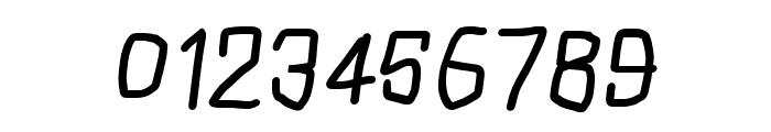 Squarish Bold Italic Font OTHER CHARS