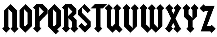 Squealer Font UPPERCASE