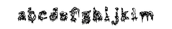 Squelettics Medium Font LOWERCASE
