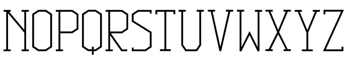 Squib Font UPPERCASE