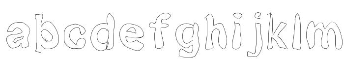 Squibbles Font LOWERCASE