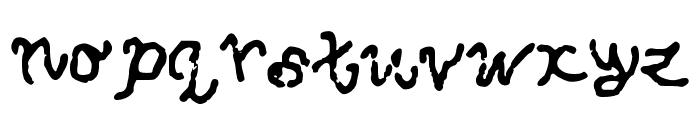 SquidCan Font LOWERCASE