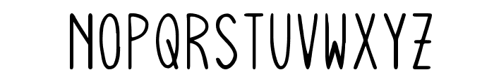 Squiggly Asta Font UPPERCASE