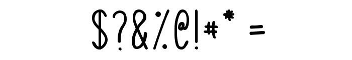SquigglyAsta Font OTHER CHARS