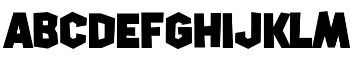 Squirk Font UPPERCASE