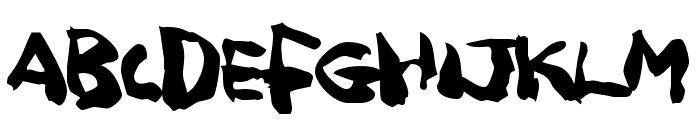 Squitcher Font UPPERCASE