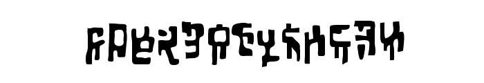 Squiznor BB Font UPPERCASE