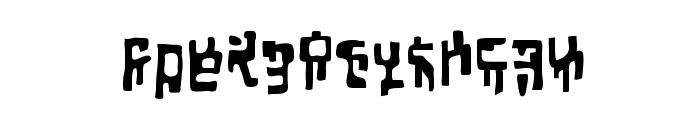 Squiznor BB Font LOWERCASE