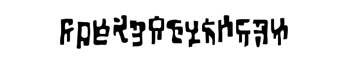 SquiznorBB Font LOWERCASE