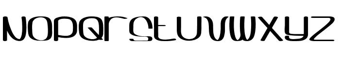 Sqwash Font UPPERCASE