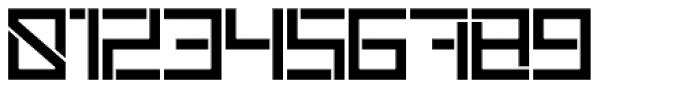 Sqair Stencil Font OTHER CHARS