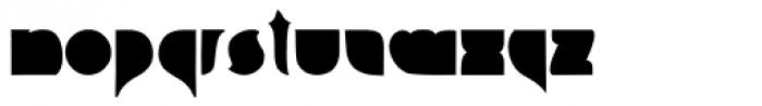 Squab Font UPPERCASE