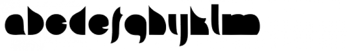Squab Font LOWERCASE