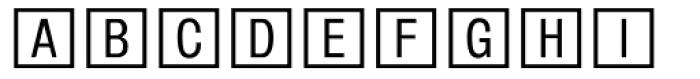 Square Frame MT Font UPPERCASE