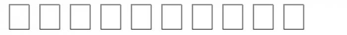 Square Frame Neg MT Font OTHER CHARS