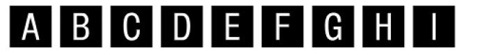 Square Frame Neg MT Font UPPERCASE