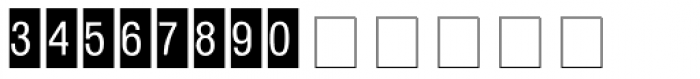 Square Frame Neg MT Font LOWERCASE