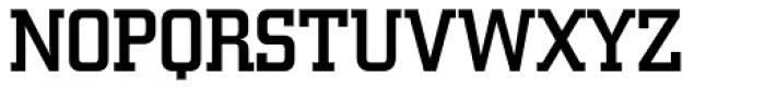 Square Slabserif 711 Medium Font UPPERCASE