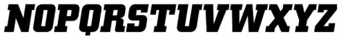 Square Slabserif 711 Pro Bold Italic Font UPPERCASE