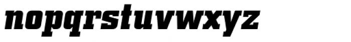 Square Slabserif 711 Pro Bold Italic Font LOWERCASE