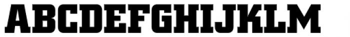 Square Slabserif 711 Pro Bold Font UPPERCASE