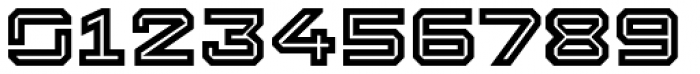 Squartiqa 4F Inline Font OTHER CHARS