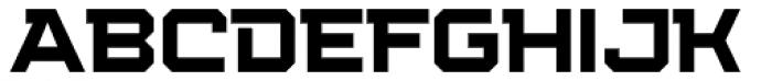 Squartiqa 4F Light Font UPPERCASE