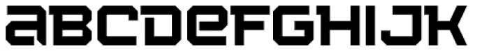 Squartiqa 4F Light Font LOWERCASE