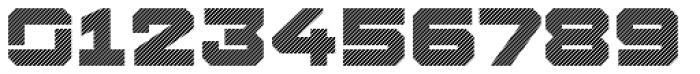 Squartiqa 4F Stripes Font OTHER CHARS