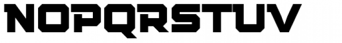 Squartiqa 4F Font UPPERCASE