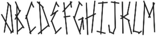 SRG-Fighters Tape Regular ttf (400) Font UPPERCASE