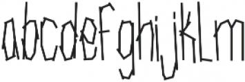SRG-Fighters Tape Regular ttf (400) Font LOWERCASE
