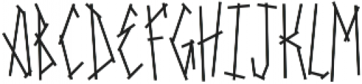 SRG-Fighters Tape otf (400) Font UPPERCASE