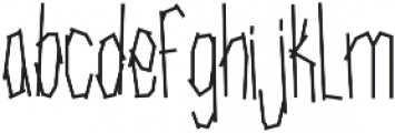 SRG-Fighters Tape otf (400) Font LOWERCASE