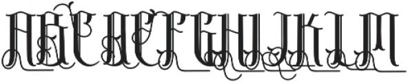 Sribaduga Ornament Alternate otf (400) Font UPPERCASE