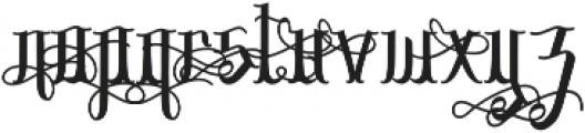 Sribaduga Ornament Alternate otf (400) Font LOWERCASE