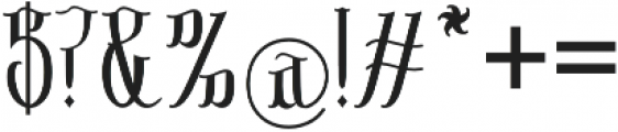 Sribaduga otf (400) Font OTHER CHARS