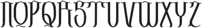 Sribaduga otf (400) Font UPPERCASE