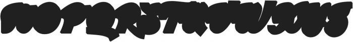 Srikandy Extrude Regular Regular otf (400) Font UPPERCASE