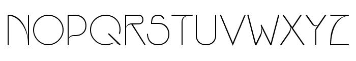 Srinova Regular Font UPPERCASE