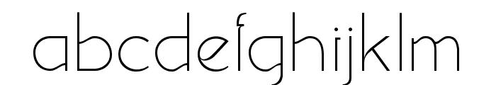 Srinova Regular Font LOWERCASE
