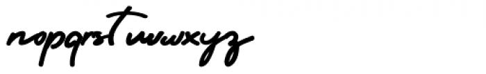 Sri Kandi Regular Font LOWERCASE