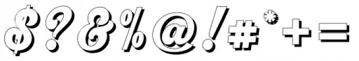 Srikandy Shadow Regular Font OTHER CHARS