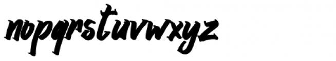 Srikaya Bold Italic Font LOWERCASE