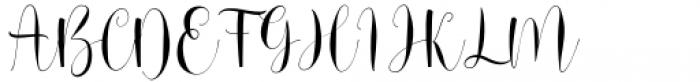 Srykandi Regular Font UPPERCASE