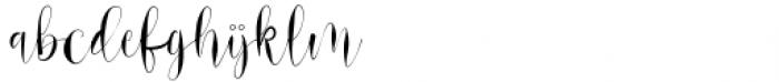 Srykandi Regular Font LOWERCASE