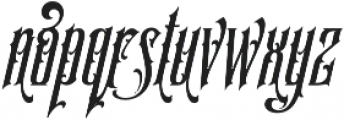 SS Amberosa Stylistic 01 Regular otf (400) Font LOWERCASE