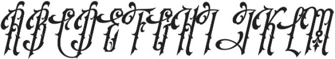 SS Amberosa Stylistic 02 otf (400) Font UPPERCASE
