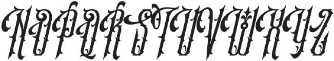 SS Amberosa Stylistic 06 otf (400) Font UPPERCASE