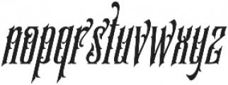SS Amberosa Stylistic 06 otf (400) Font LOWERCASE
